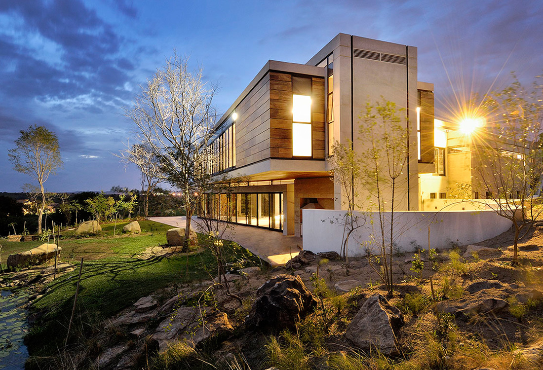 Dbm Architects Steyn City Luxury House 1