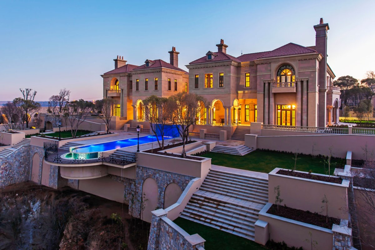Bel Air Car >> DBM Architects   Palazzo Steyn, Luxury Private Home