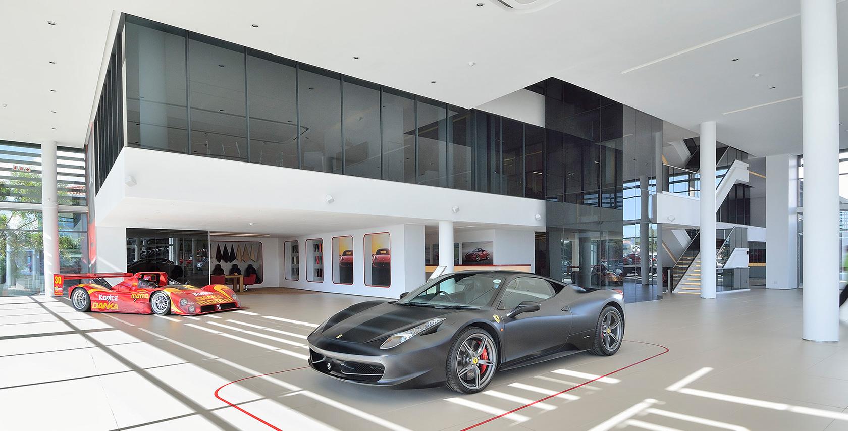 Scuderia Ferrari Dealership